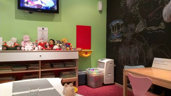 Air Canada SAS kids room