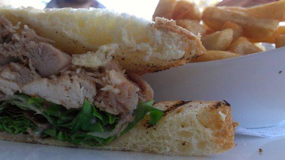 Duck club sandwich