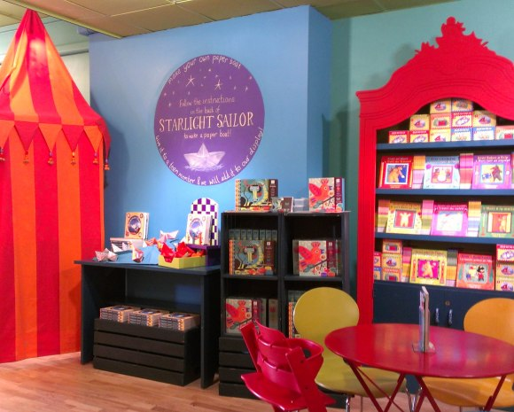 Activity Station at Barefoot Books