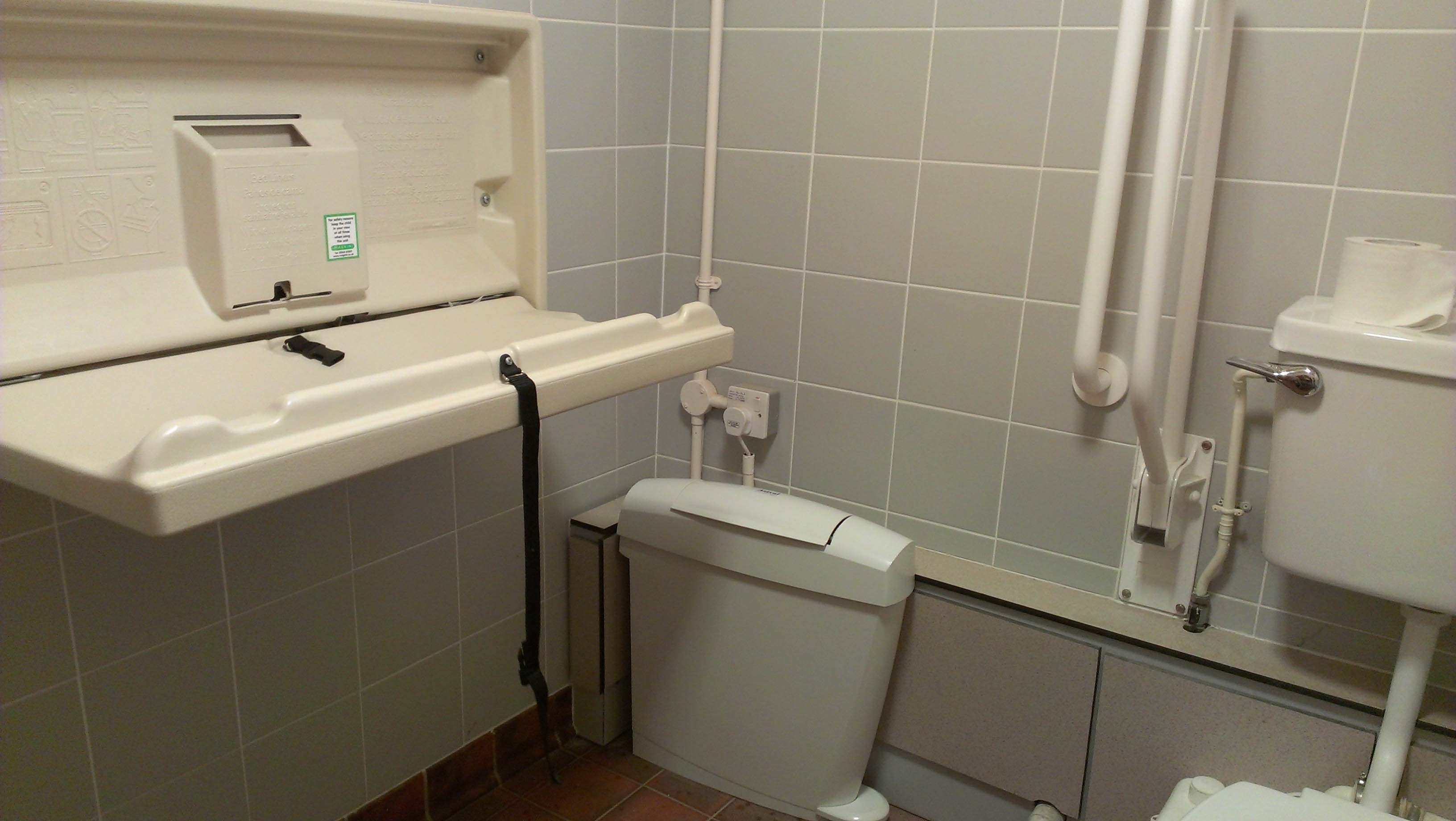 September Oxford Mommy - Disabled changing table