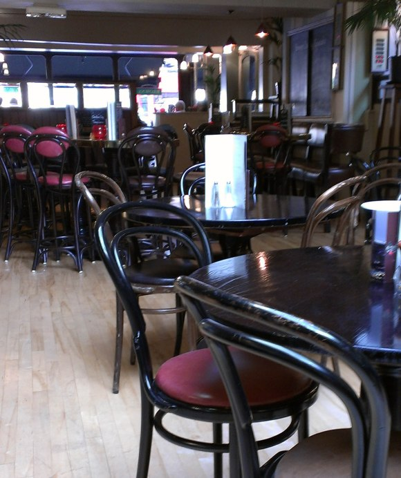 Browns Bar & Brasserie Seating Area