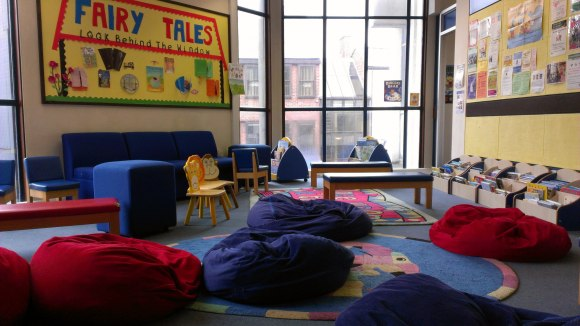 Oxford Central Library children's department
