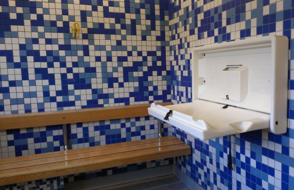Temple Cowley Pool baby-changing facilities