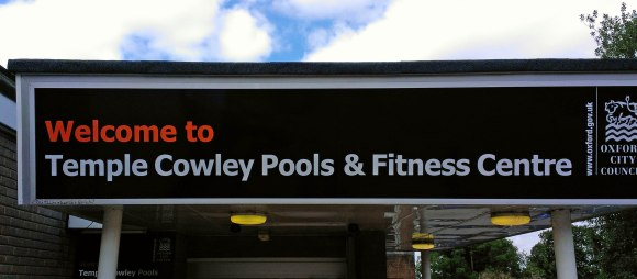 Temple Cowley Pool sign