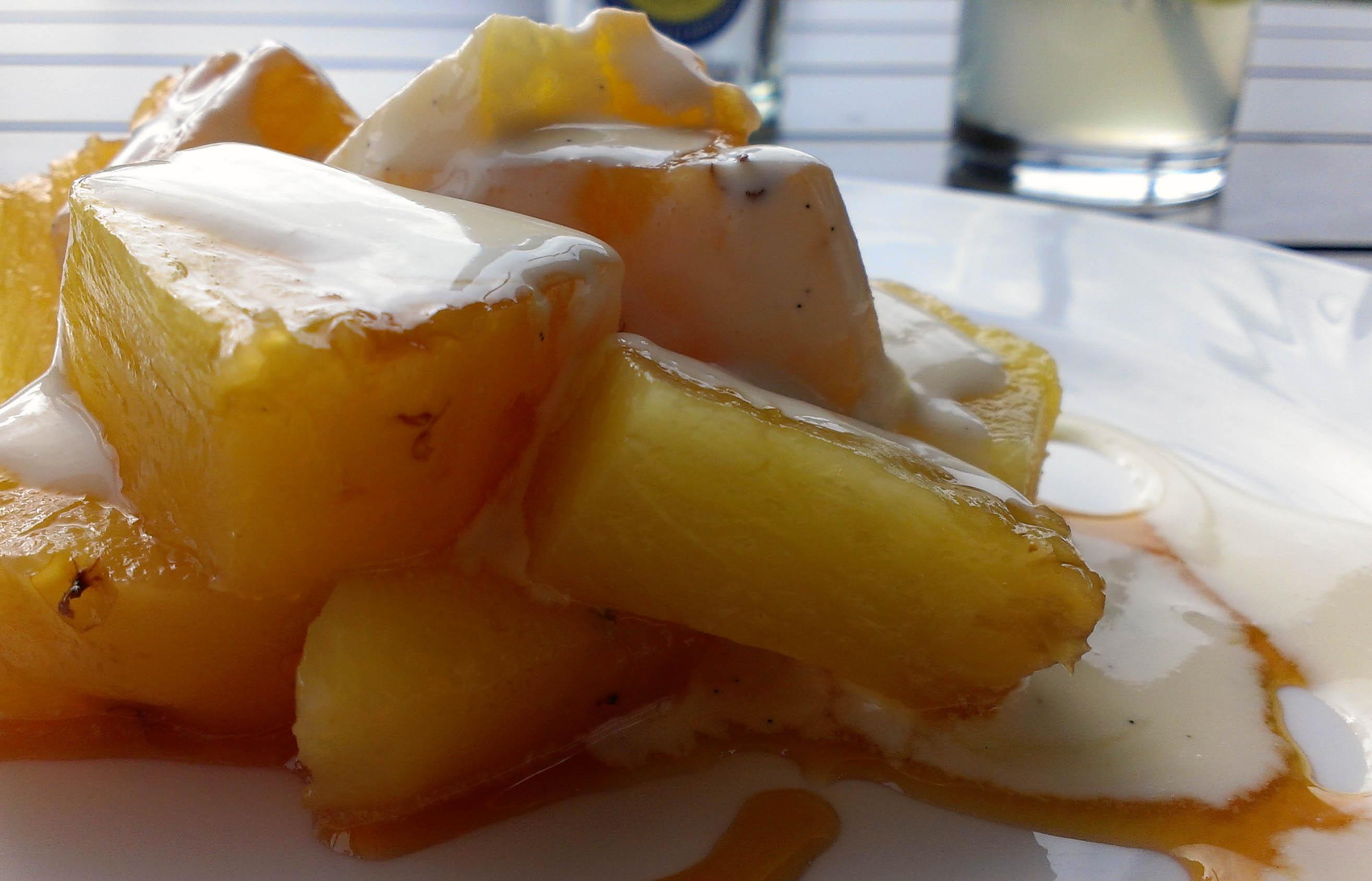 Ashmolean Dining Room Roasted Pineapple
