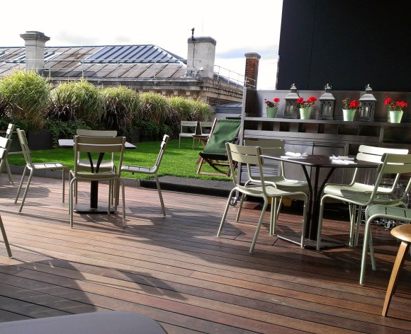 Ashmolean Dining Room terrace