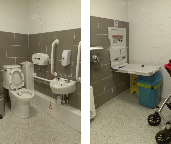 Piitt Rivers disabled and baby changing toilet