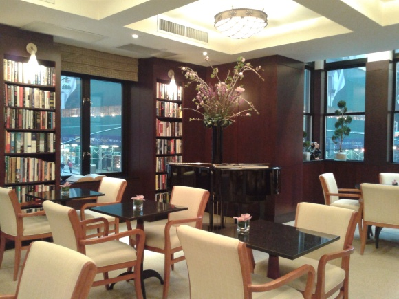 Library Hotel Reading room