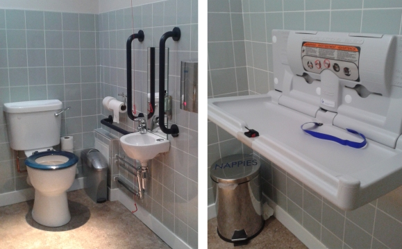 Carluccio's baby-changing facilities